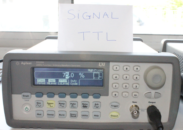 Gnrateur de signal TTL