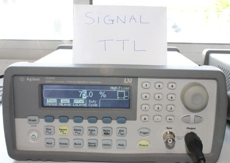 Générateur de signal TTL
