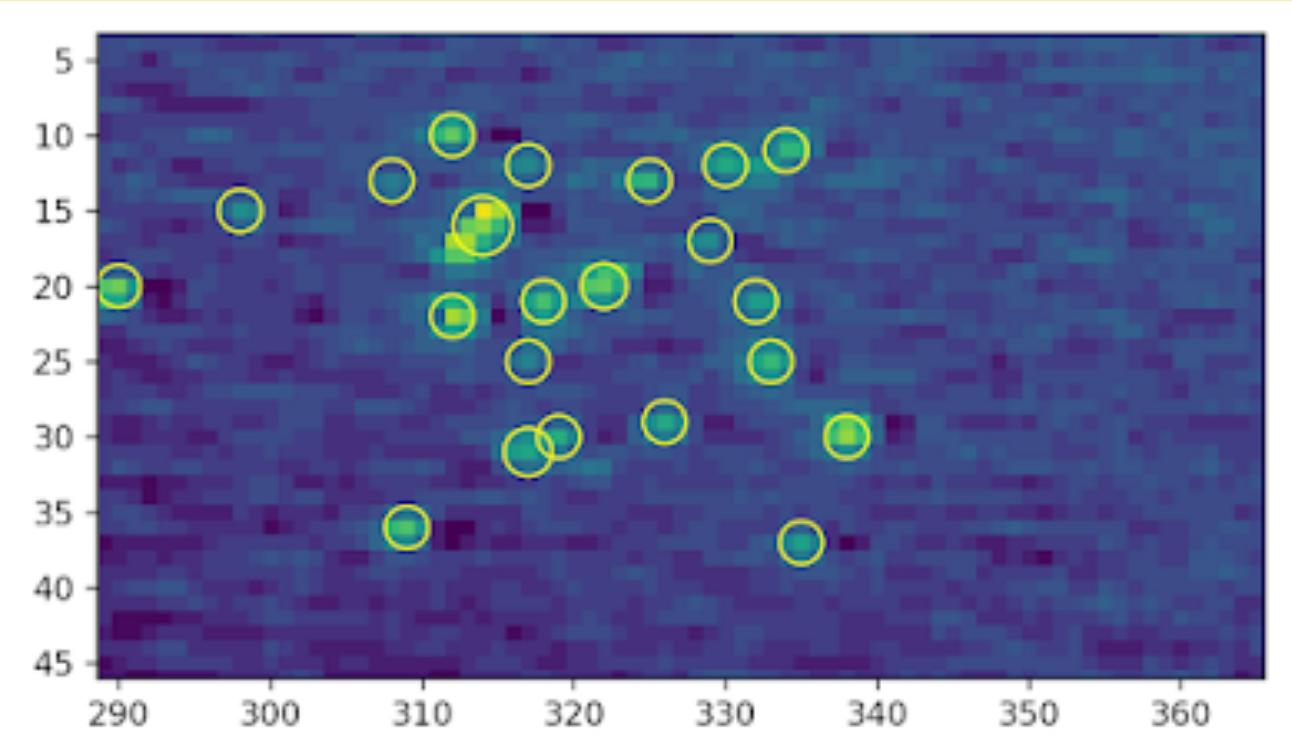 Détection automatique de défauts micrométriques à la surface des miroirs du LMA.