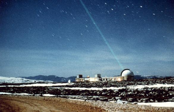Laser de l'observatoire du CERGA