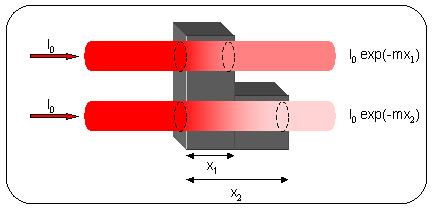 Absorption des rayons X par la matière