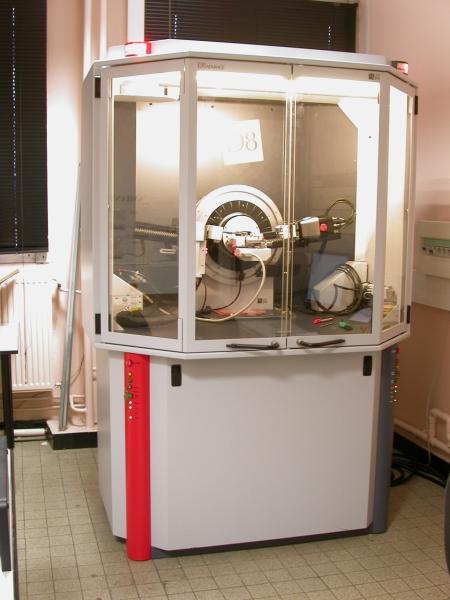 Diffractomètre sur poudre