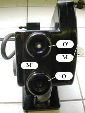 Le réfractomètre vue de face