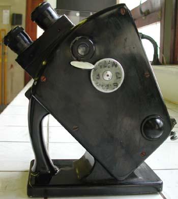 Le réfractomètre vue du côté droit
